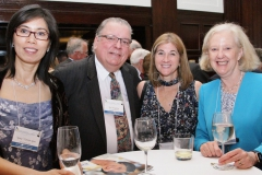 NFCR Board of Directors Wendi Picker and Judy Barnhard with event sponsors Bob Hoagland from The Calmark Group and Gina Gun of Genecopeia