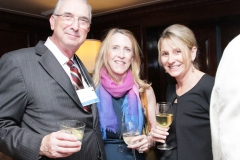 NFCR supporters Kevin and Lyn Brown, along with Daffodils & Diamonds chair Jennifer Soltesz