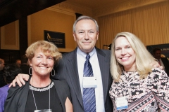 NFCR's Melissa White along with supporters Arnold and Helen Klein