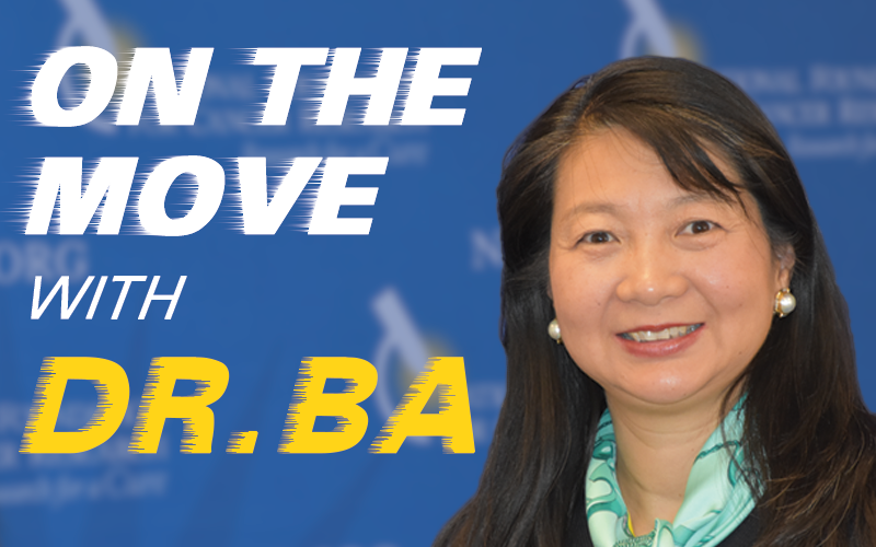 On the Move With Dr. Ba: 2016 Recap