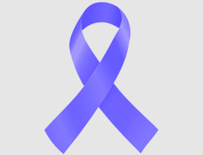 Periwinkle Stomach and Esophageal Cancer Ribbon