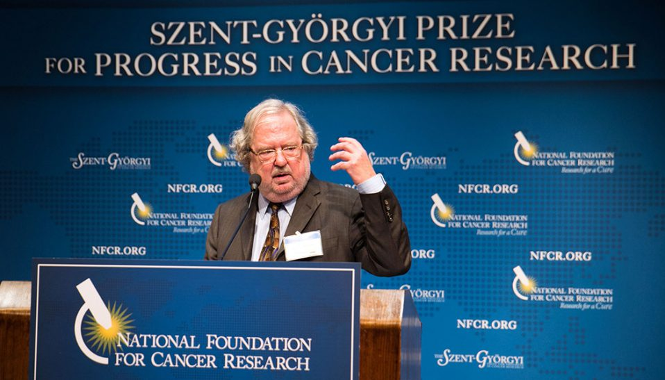 James Allison Speaks at 2014 Szent Gyorgyi Prize Award Dinner