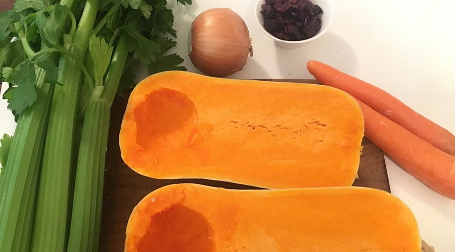 Stuffed and Roasted Squash Recipe