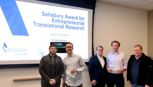 Salisbury Award for Entrepreneurial Translational Research awarded at Scripps Research