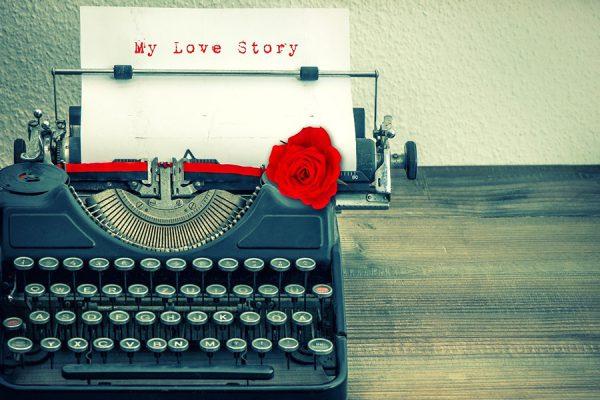 Love Story typewriter