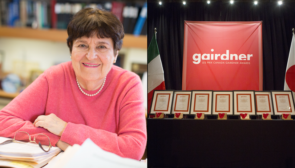 Susan Horowitz and the Gairdner Award