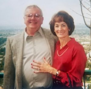 Larry Woody and Wife