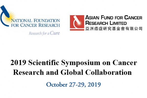 2019 NFCR and AFCR Scientific Symposium
